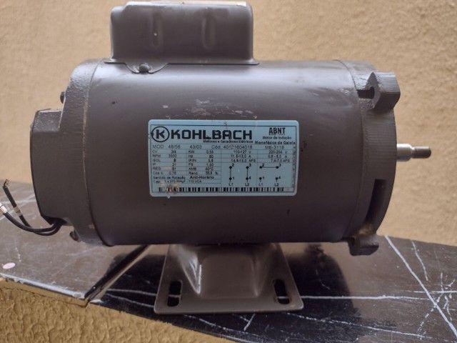 Motor elétrico 3/4 CV (semi novo)
