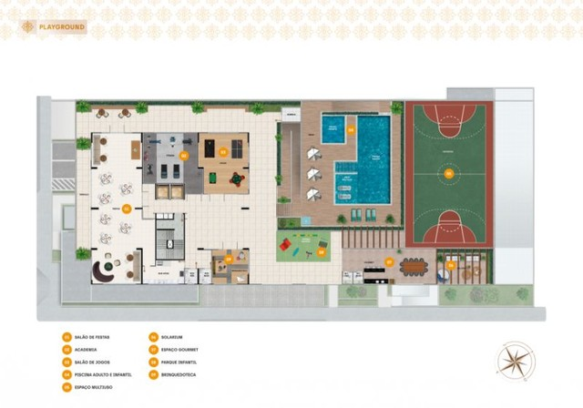 Apartamento à venda, RAVELLO RESIDENCE no Jardim Europa Aracaju SE - Foto 9