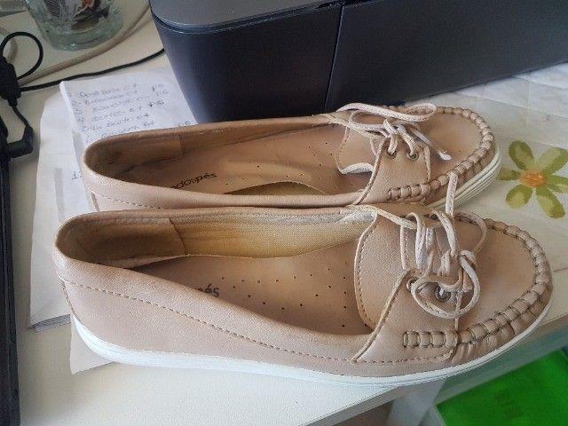 Sapato(Mocassin) Nº 36, aspecto de novo, usou uma vez e não gostou! - Foto 2