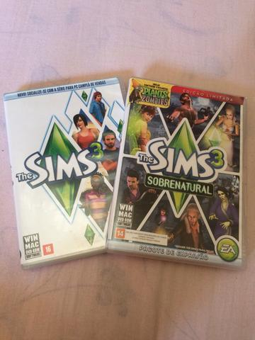 The sims 3 + expansão sobrenatural