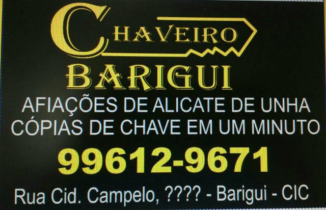 Chaveiro cic barigui 41996129671