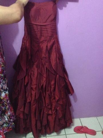 Vestido de valsa de 15 anos