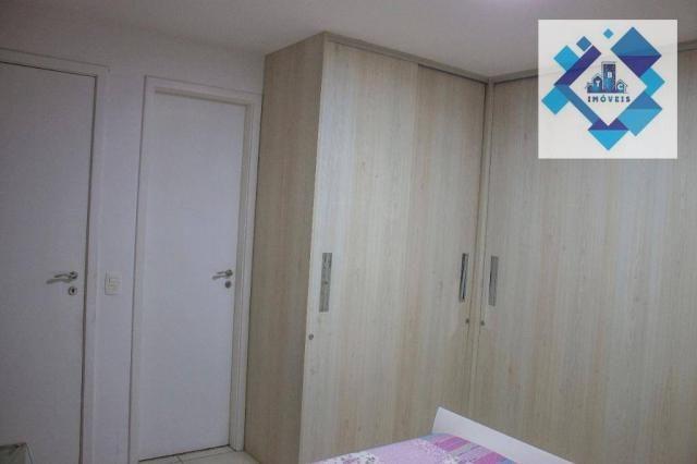 Apartamento residencial à venda, Varjota, Fortaleza. - Foto 5