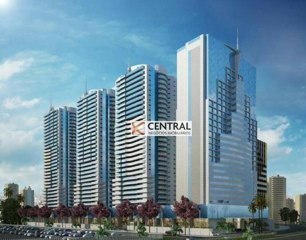 Apartamento com 1 dormitório à venda, 51 m² por R$ 340.000,00 - Caminho das Árvores - Salv