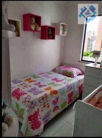 Apartamento com 3 dormitórios à venda, 65 m² por R$ 360.000 - Meireles - Fortaleza/CE - Foto 4