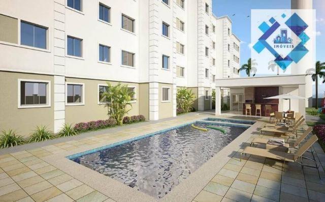 Apartamento / 2 Quartos - Área total: 44,90 /Maraponga. - Foto 8