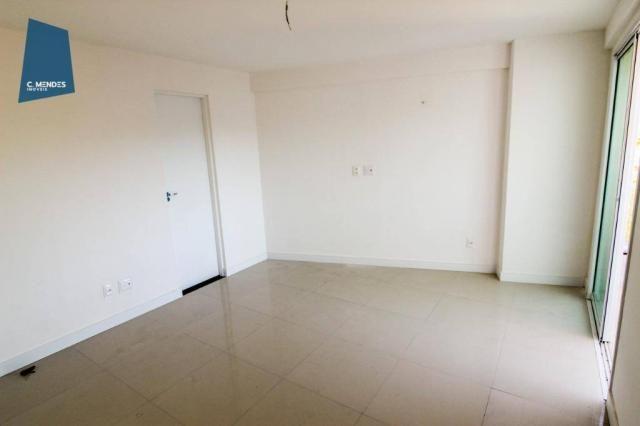 Apartamento para alugar, 105 m² por R$ 2.300,00/mês - Jardim das Oliveiras - Fortaleza/CE - Foto 19
