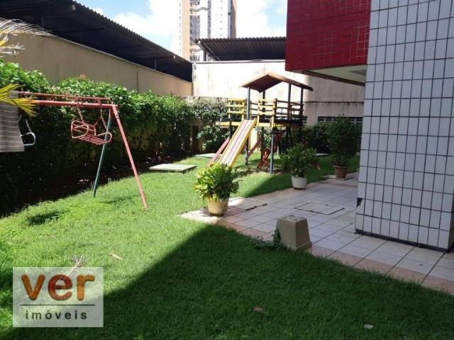 Apartamento à venda, 91 m² por R$ 359.000,00 - Cocó - Fortaleza/CE - Foto 3