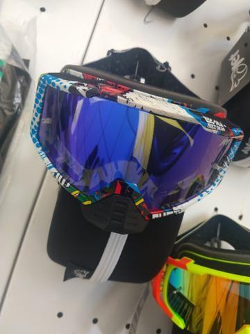 Óculos jet com proteção nazal - Foto 2