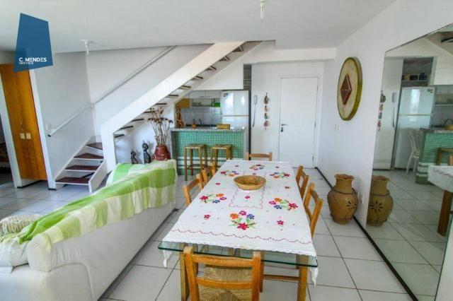 Apartamento Duplex para alugar, 130 m² por R$ 4.000,00/mês - Mucuripe - Fortaleza/CE - Foto 20