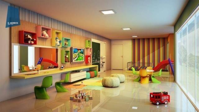Apartamento à venda, 48 m² por R$ 443.096,80 - Fátima - Fortaleza/CE - Foto 5