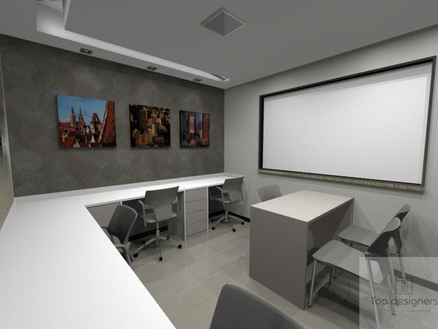 Sala Comercial Mobiliada - Foto 3