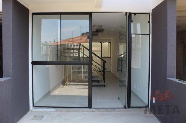 Sobrado com 2 dormitórios à venda, 58 m² por R$ 187.000,00 - Jardim Sofia - Joinville/SC - Foto 2