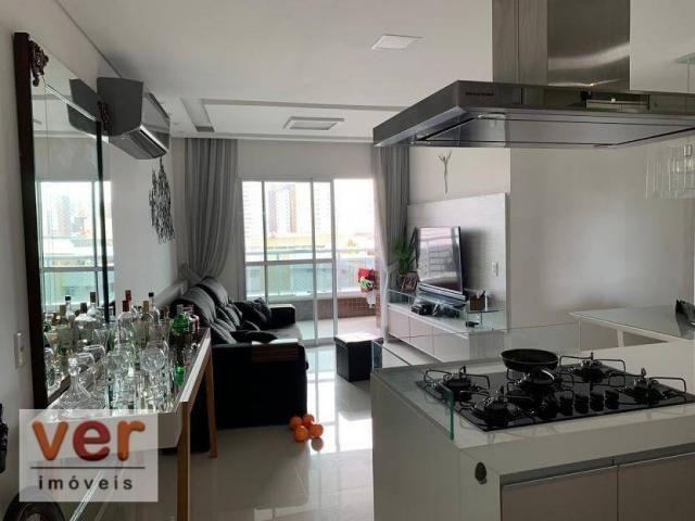 Apartamento com 3 dormitórios à venda, 91 m² por R$ 850.000,00 - Aldeota - Fortaleza/CE - Foto 2