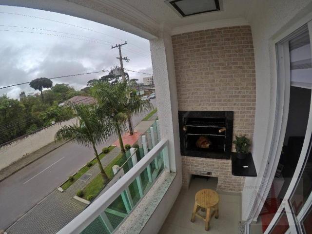 Apartamento 03 quartos sendo 01 suíte no Bom Jesus, São José dos Pinhais - Foto 9
