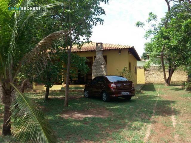 Rancho Parque dos Pequizeiros com 2 dormitórios à venda por R$ 420.000 - Zona Rural - Sant - Foto 13