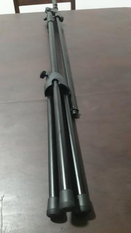 Pedestal para microfone novo - Foto 3