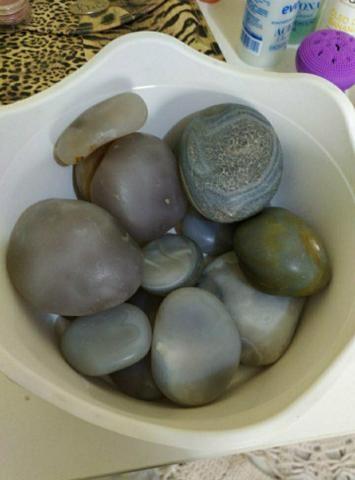 Cadeira quick massage + vapor de ozônio + kit pedras para massagem - Foto 4
