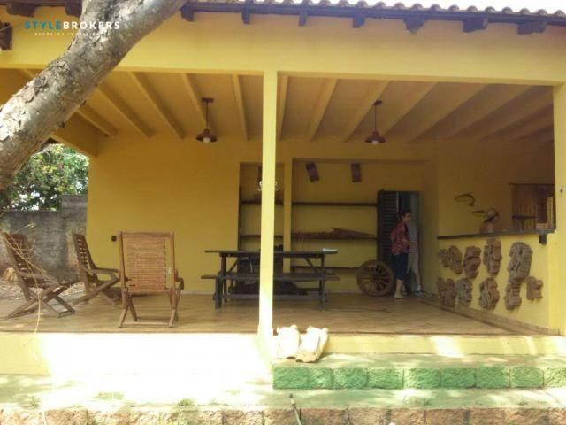 Rancho Parque dos Pequizeiros com 2 dormitórios à venda por R$ 420.000 - Zona Rural - Sant - Foto 8