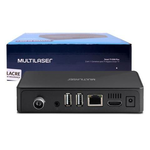 Conversor Digital e Smart Tv Box Android 2x1 PC001 Multilaser 1GB Ram 8GB Usb Hdmi Full Hd - Foto 4