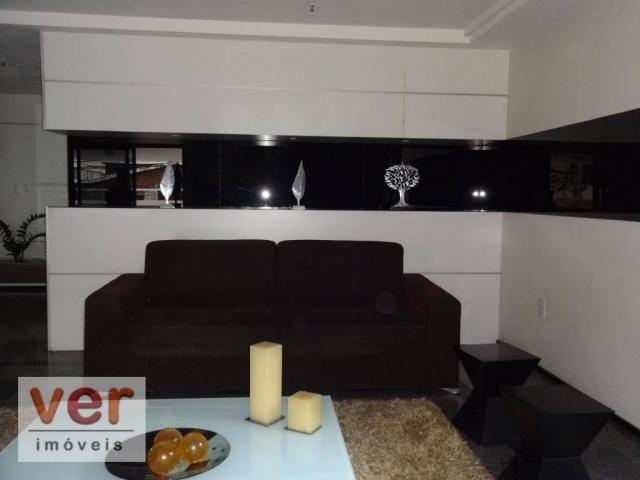 Apartamento com 2 dormitórios à venda, 115 m² por R$ 665.000,00 - Meireles - Fortaleza/CE - Foto 3