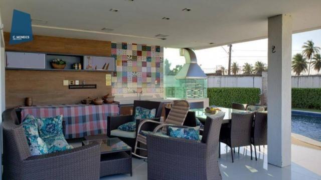 Casa no Alphaville Fortaleza com 4 dormitórios à venda, 310 m² por R$ 1.800.000 - Cararu - - Foto 19