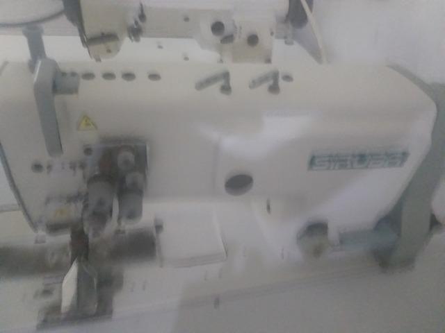Máquina De Costura Pespontadeira 2 Agulhas Ponto Fixo - Foto 3