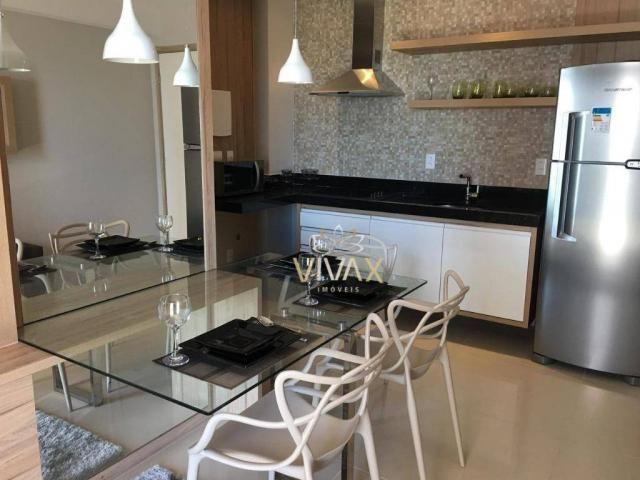 Flat com 1 dormitório à venda, 43 m² por R$ 360.000 - Ponta Negra - Natal/RN - Foto 2