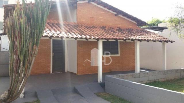 Casa com 3 dormitórios para alugar, 120 m² por R$ 1.500,00/mês - Progresso - Uberlândia/MG