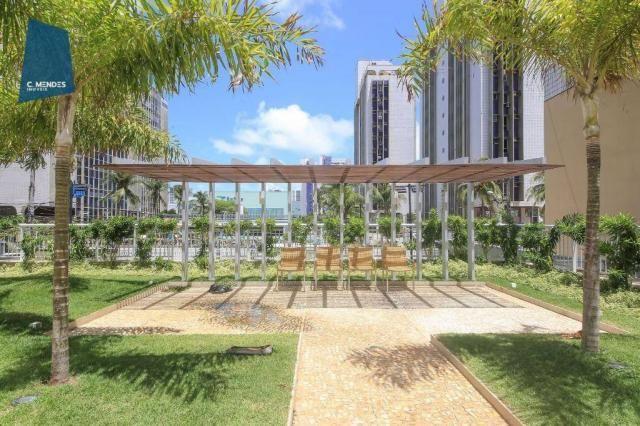 Apartamento com 3 dormitórios à venda, 71 m² por R$ 455.000,00 - Cocó - Fortaleza/CE - Foto 5