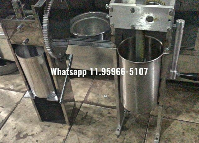 Masseira de churros alumínio e inox