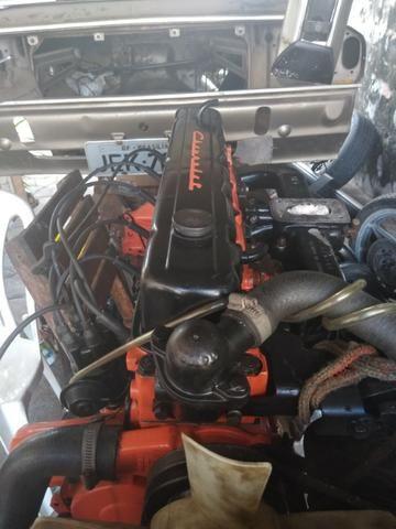 Motor 6 cilindros Opala seminovo - senai