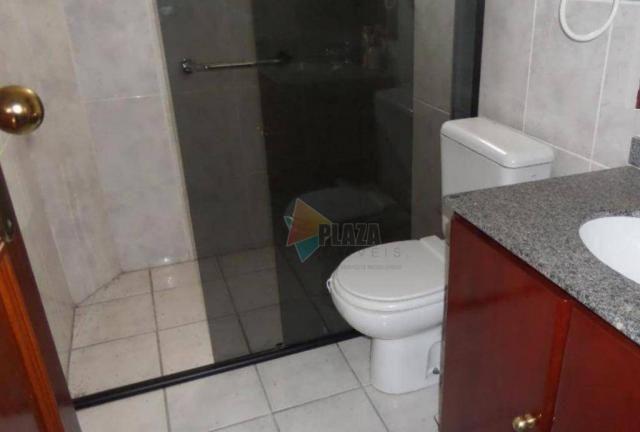 Apartamento com 2 dormitórios para alugar, 90 m² por R$ 3.000,00/mês - Vila Guilhermina -  - Foto 17