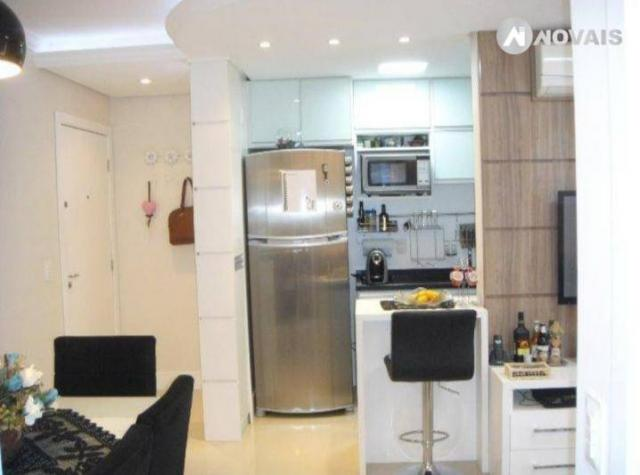 Apartamento com 2 dormitórios à venda, 54 m² por r$ 260.000,00 - santo andré - são leopold - Foto 5