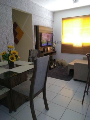 Vendo lindo apartamento 2/4 ecopark com ótima área de lazer - Foto 3