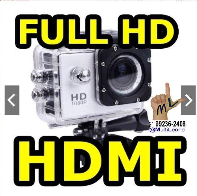 Camera Sports Hd Dv 1080p Filmadora Portátil À Prova D'agua Full Hd Dv 30m - Foto 2