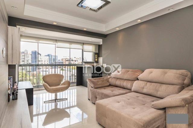 Magnífico apartamento com 2 dormitórios para alugar, 86 m² por R$ 4.800/mês - Três Figueir