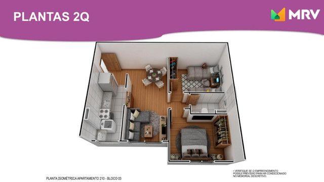 Duque de Caxias - Antecipe se apartamento 2 Qrto(1 SUÍTE) com varanda -ótima localização - Foto 2