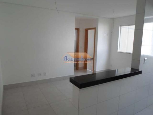 Apartamento à venda com 2 dormitórios em Santa branca, Belo horizonte cod:42372 - Foto 3