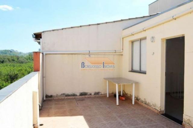 Cobertura à venda com 2 dormitórios em São francisco, Belo horizonte cod:43216 - Foto 4
