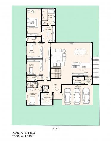Linda casa nova para venda no charmoso condomínio de chácaras Quinta da Alvorada, excelent - Foto 10