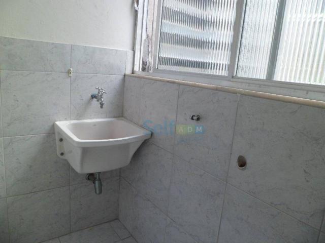 Apartamento com 1 dormitório para alugar, 36 m² - São Francisco - Niterói/RJ - Foto 8