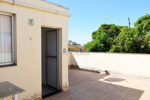 Cobertura à venda com 2 dormitórios em São francisco, Belo horizonte cod:43216 - Foto 3