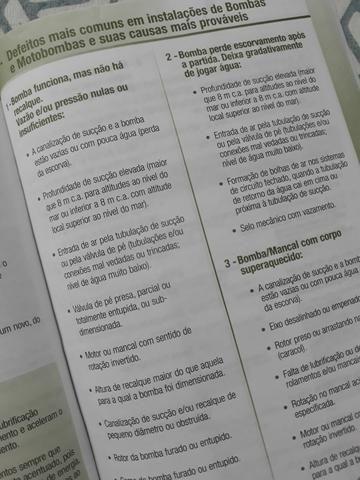 Manual de Instruções Bombas e MotoBombas - Foto 4