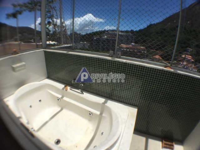 Apartamento à venda com 4 dormitórios em Cosme velho, Rio de janeiro cod:FLCO40015 - Foto 12