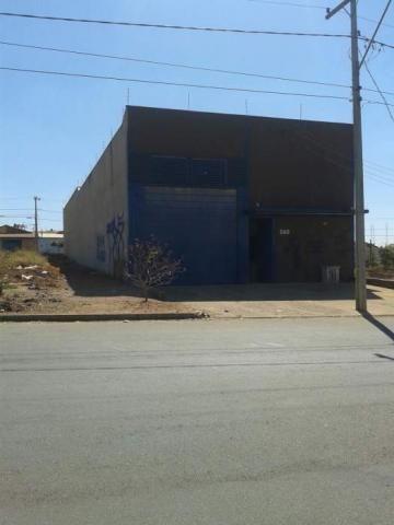 Galpão/depósito/armazém à venda em Residencial buena vista, Goiânia cod:GD2224