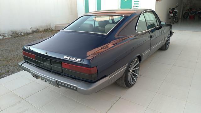 Opala Coupe diplomata 4.1s 6 cilindros de chassi 1988 versão rara - Foto 5