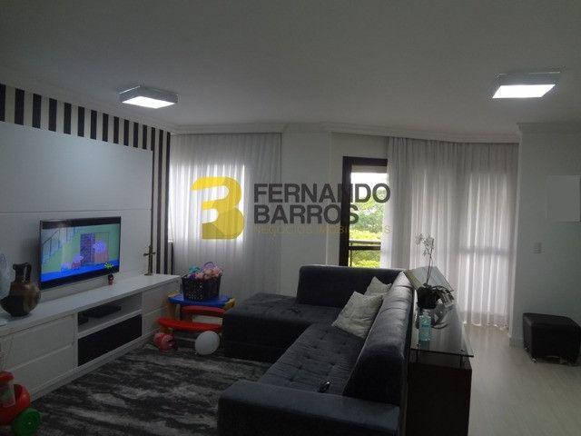 Lindo Ed Green City com 145,00m2 útil, inteiro mobiliado, perto da Av. Paraná, 2 vagas - Foto 2