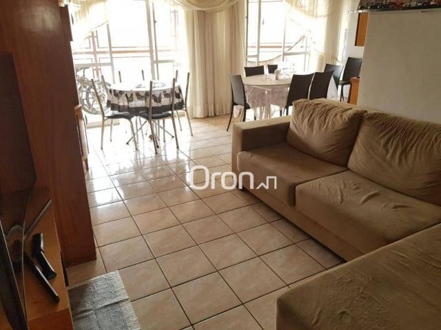 Apartamento com 3 dormitórios à venda, 120 m² por R$ 359.000,00 - Setor Central - Goiânia/ - Foto 2