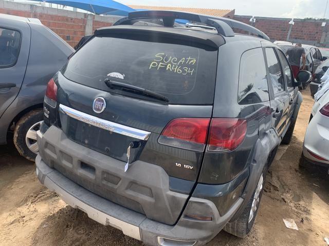 Sucata de new Fiesta sedan 1.5 manual. Para retirada de peças - Foto 4